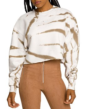 Good American - Cropped Cool Sweatshirt