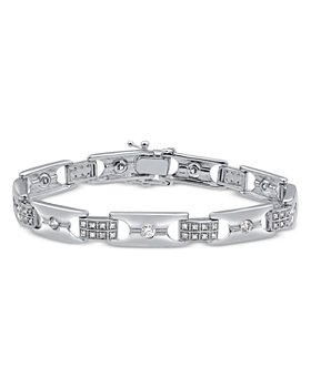 Bloomingdale's - Diamond Link Bracelet in 14K White Gold, 1.25 ct. t.w. - 100% Exclusive