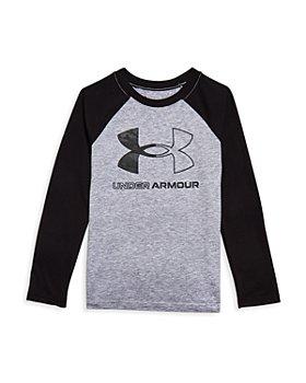 Under Armour - Boys' Logo Baseball Shirt - Little Kid