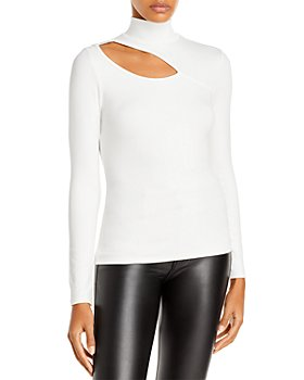 FORE - Cutout Turtleneck Top