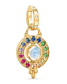 Temple St. Clair - 18K Yellow Gold Celestial Multi-Gemstone Orbital Pendant