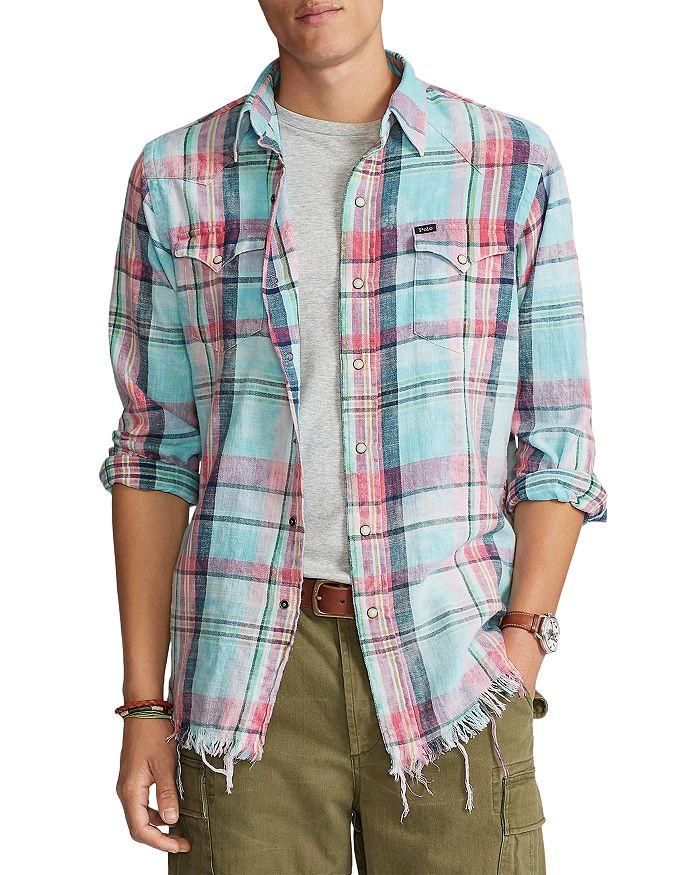 Polo Ralph Lauren - Classic Fit Plaid Western Shirt