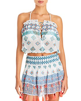 Ramy Brook - Mika Printed Strapless Top