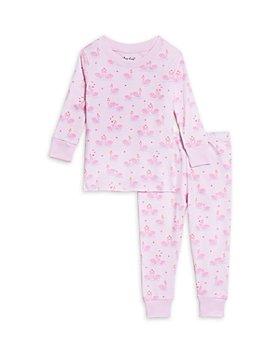 Kissy Kissy - Girls' Swan Print Pajama Set - Baby