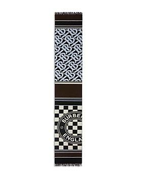 Burberry - Montage Cashmere-Blend Logo Scarf