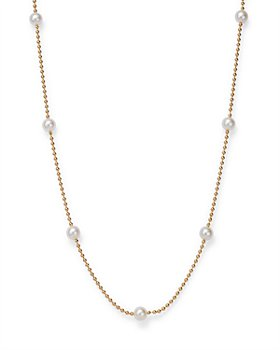 Roberto Coin - 18K Yellow Gold Pearl Necklace