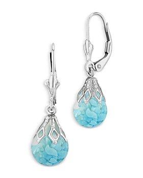 Bloomingdale's - Floating Turquoise Drop Earrings - 100% Exclusive