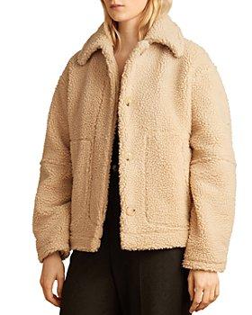 Vince - Sherpa Faux Fur Jacket