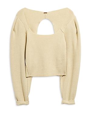 Free People Sweaters SAFFRON CROPPED SWEATER