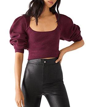 Free People - Saffron Cropped Sweater