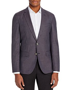 BOSS - Hartlay Houndstooth Slim Fit Sport Coat