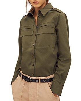 ba&sh - Oasis Military Shirt