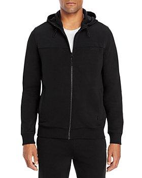 HUGO - Donley Zipped Hooded Jacket