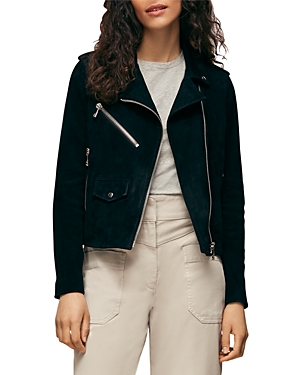 Whistles Suede Agnes Leather Jacket