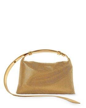 SIMON MILLER - Puffin Mini Crystal Shoulder Bag
