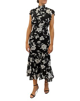 Sam Edelman - Modern Elegant Flower Maxi Dress