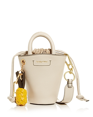 See By Chloé SEE BY CHLOE CECILIA MINI LEATHER TOTE