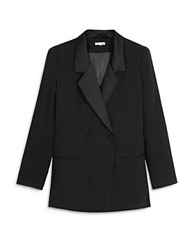 WeWoreWhat - Tuxedo Blazer Romper
