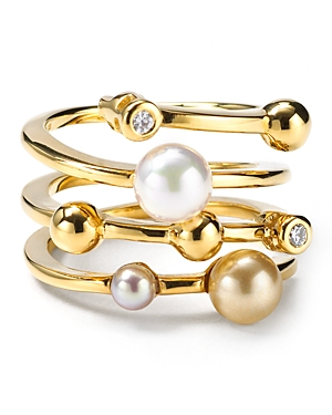Endless Simulated Pearl Ring