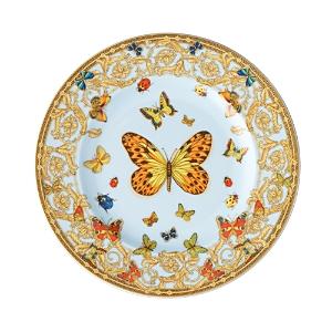 Rosenthal Meets Versace Butterfly Garden Bread & Butter Plate-Home