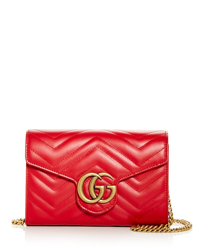 Gucci - GG Marmont Matelassé Leather Mini Bag
