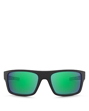 Oakley Men\\\'s Drop Point Polarized Rectangular Sunglasses, 61mm-Jewelry & Accessories
