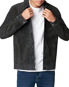 BLANKNYC - Dark Shadow Suede Shirt Jacket