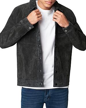 Blanknyc Dark Shadow Suede Shirt Jacket