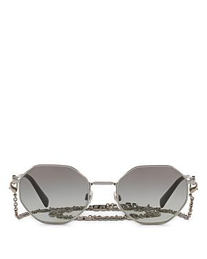 Valentino Women\\\'s Octagon Sunglasses, 52mm-Jewelry & Accessories