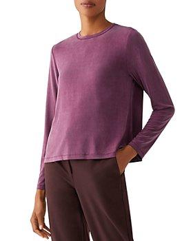 Eileen Fisher - Crewneck Long Sleeve Top