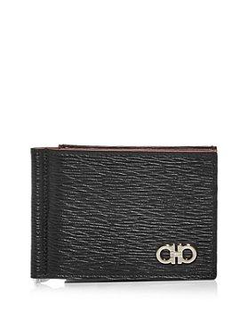 Salvatore Ferragamo - Revival Gancini Leather Bi Fold Money Clip Wallet