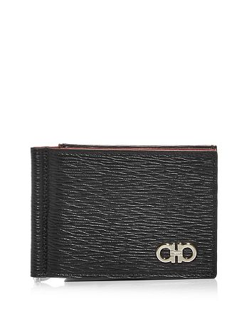 Salvatore Ferragamo - Revival Leather Bifold Money Clip Wallet