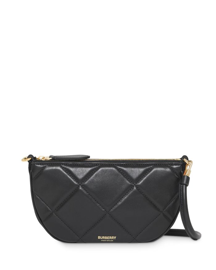 Burberry Olympia Quilted Leather Pouch    Bloomingdale's