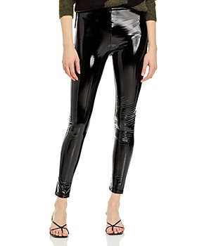 AQUA - Faux Leather Leggings - 100% Exclusive