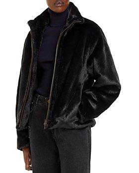 Vince - Plush Faux Fur Jacket