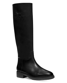 COACH - Rilee Leather Knee High Riding Boots