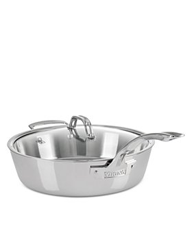 Viking - Contemporary 3 Ply  4.8 Quart Saute Pan with Lid
