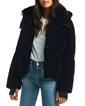 SAM. - Sydney Velvet Short Down Coat
