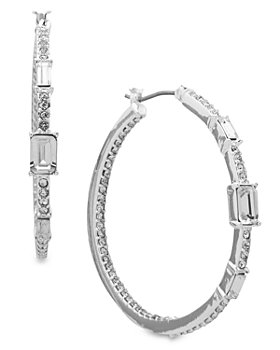 Ralph Lauren - Baguette Hoop Earrings