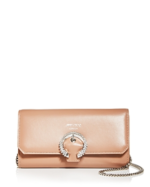 Jimmy Choo Leather Chain Wallet-Handbags