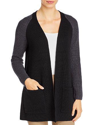 Eileen Fisher Petites - Merino Wool Raglan Sleeve Cardigan