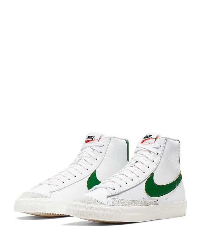 Nike - Men's Blazer Mid '77 Vintage Leather High-Top Sneakers