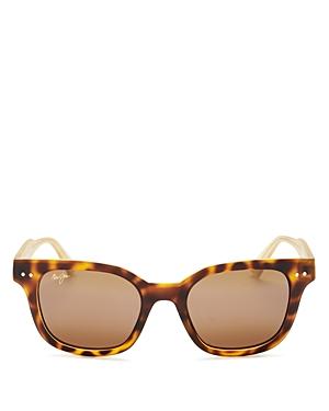 Unisex Shore Break Polarized Square Sunglasses