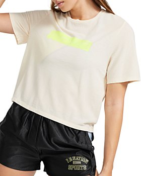 P.E NATION - Retriever Graphic Cropped Tee
