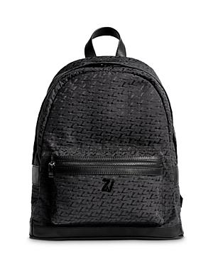 Zadig & Voltaire Leather Backpack-Men