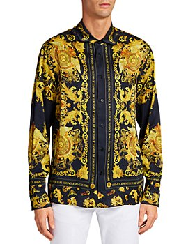 Versace Jeans Couture - Medallion Baroque Regular Fit Button-Down Shirt