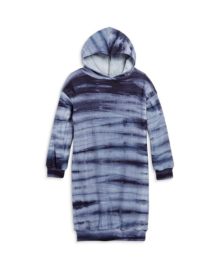 AQUA - Girls' Sweatshirt Hoodie Dress, Big Kid - 100% Exclusive