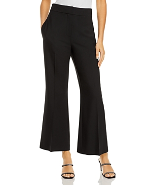 Rebecca Taylor TWILL STRAIGHT LEG PANTS