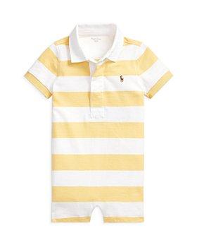 Ralph Lauren - Boys' Cotton Stripe Rugby Shortalls - Baby