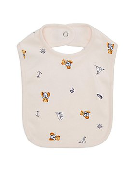 Ralph Lauren - Girls' Bear Print Bib - Baby